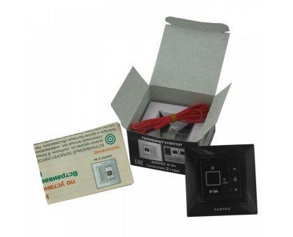 Купить Терморегулятор для теплого пола EASTEC E-34 черный в Новосибирске