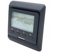 Терморегулятор для теплого пола / комнатный  Е-51.716 черный