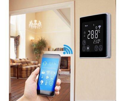 Купить Терморегулятор для теплого пола / комнатный GRANDEKS 07H WI-FI в Новосибирске