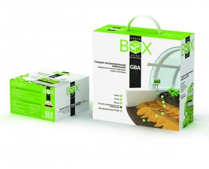 Комплект для обогрева грунта теплиц GREEN BOX AGRO 14GBA-650