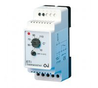 Термостат для защиты труб от замерзаний, с регулируемым дифференциалом ETI-1221 +10…+110℃