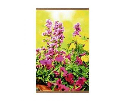 Пленочный обогреватель домашний очаг цветы