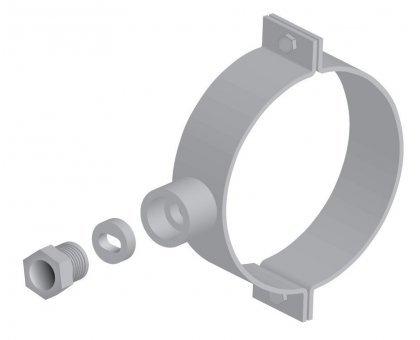 Купить Хомут для ввода кабеля в трубу 100 мм в Новосибирске