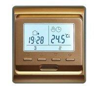Терморегулятор E 51.716 (золото), электронный, программируемый