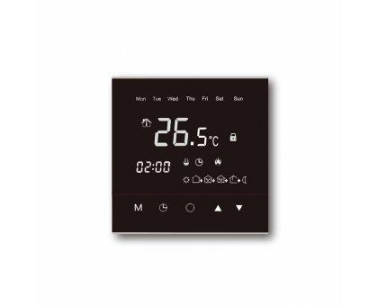 Купить Терморегулятор WARMLIFE, программируемый черный в Новосибирске