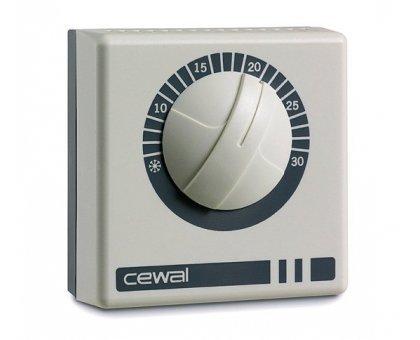 Купить Терморегулятор комнатный CEWAL RQ 10 накладной в Новосибирске
