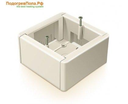 Купить Коробка для наружного монтажа терморегулятора в Новосибирске