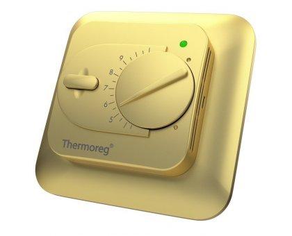 Купить Терморегулятор Thermoreg TI 200 (золото), механический в Новосибирске