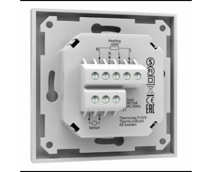 Купить Терморегулятор Thermoreg TI 970 White, сенсорный в Новосибирске