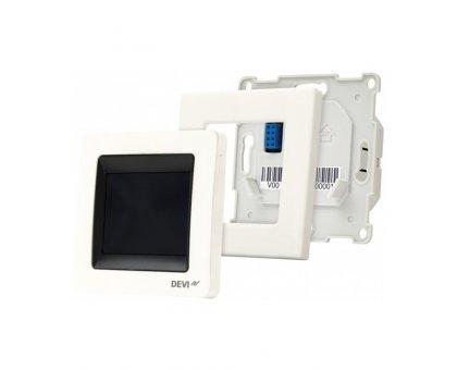 Купить Терморегулятор Devireg Touch White (белый), сенсорный в Новосибирске
