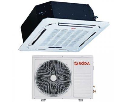 Кассетный кондиционер RODA RS-CS48BB/RU-48BB3