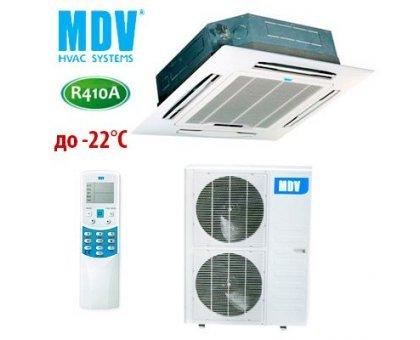 Купить Кассетный кондиционер MDV MDCC-48HRN1/MDOU-48HN1-L в Новосибирске