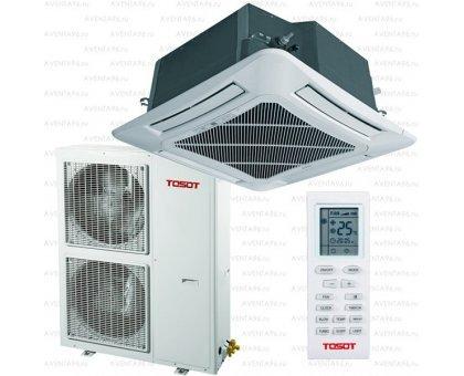 Купить Кассетный кондиционер Tosot T60H-LC2/I/TC04P-LC/T60H-LU2/O в Новосибирске