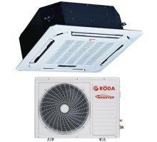 Кассетный кондиционер RODA RS-CSL24BB/RU-L24BB1