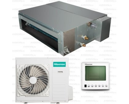 Канальный кондиционер Hisense AUD-24HX4SLH/AUW-24H4SZ1
