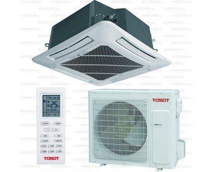 Купить Кассетный кондиционер Tosot T30H-LC2/I/TC04P-LC/T30H-LU2/O в Новосибирске