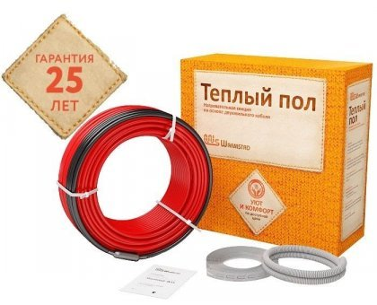 Нагревательный кабель WSS 7,0 м - 100 Вт.  м - 100 Вт.
