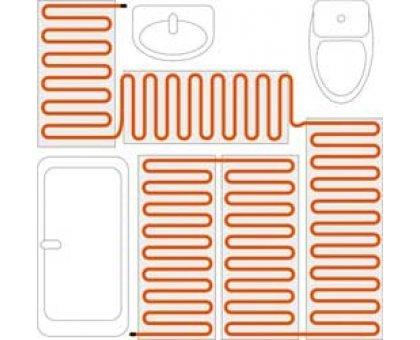 Купить Нагревательный мат Теплый пол № 1 ТСП-150- 1,0 м² в Новосибирске