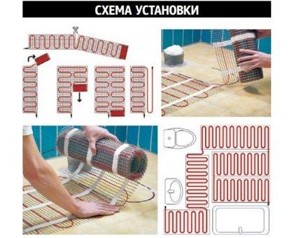 Купить Теплый пол на сетке MATRIX 150 Вт 1,0 кв.м в Новосибирске