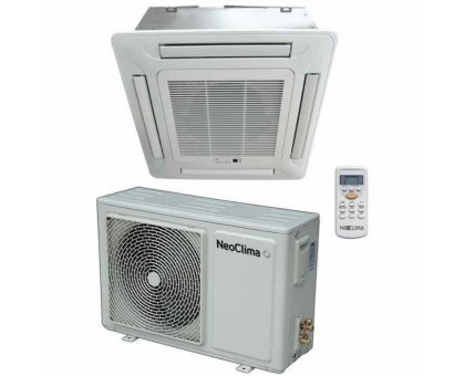 Купить Кассетный кондиционер (сплит-система) NeoClima NS/NU-12B5 в Новосибирске