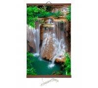 Гибкий обогреватель на стену Водопад Джур 400Вт (Тепло Крыма)