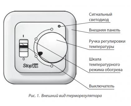 Купить Терморегулятор для системы антиобледенения и снеготаяния ТР 140 в Новосибирске
