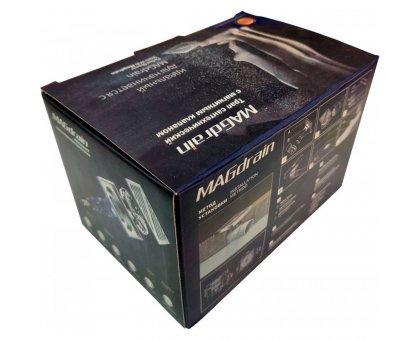 Купить Трап сантехнический MAGdrain PC 04 Q50-B (100*100,магнитный клапан,Нерж.,Матовый, выход под стир.м.) в Новосибирске
