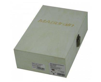 Купить Трап сантехнический MAGdrain WC 02 Q50-RW (100*100, Маг.клапан, Латунный, Двустор. фьюзинг, Кр.зол) в Новосибирске